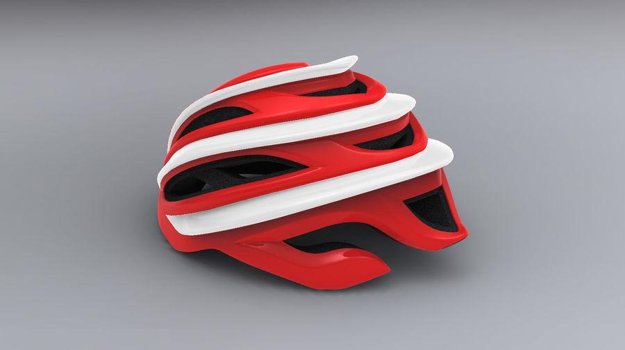 Sportig cykelhjälm royalty-free 3d model - Preview no. 2