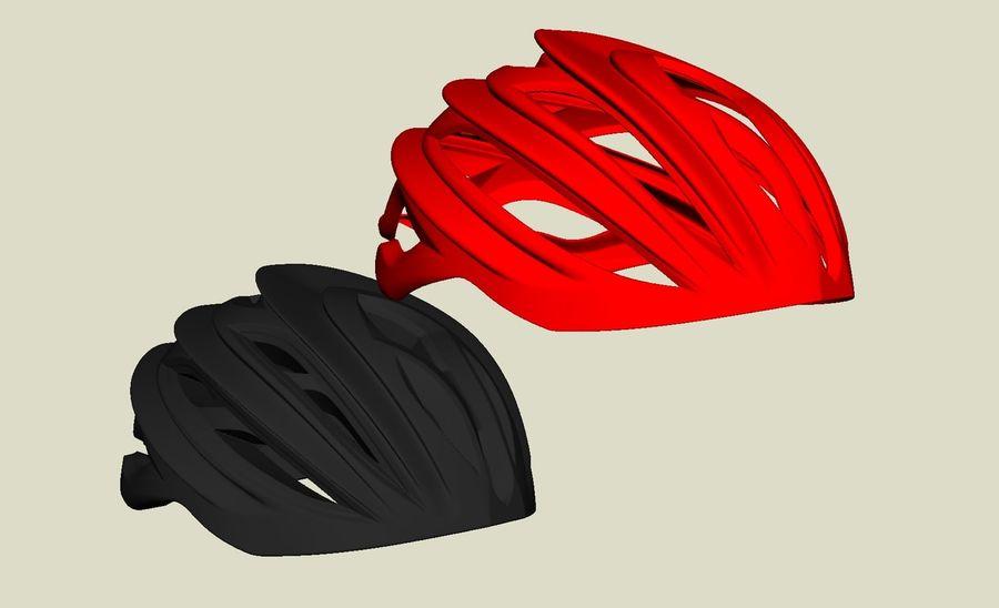 Sportig cykelhjälm royalty-free 3d model - Preview no. 5