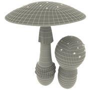Fly-agaric 3d model