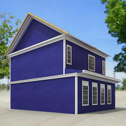 Small town house 49 by 3DRivers 3d model