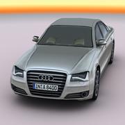 2011 Audi A8 (lowpoly) 3d model