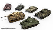 TANKS WORLD WAR 2 3d model