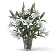 Lily Bouquet 3d model