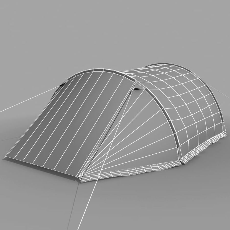 Camping Tent royalty-free 3d model - Preview no. 16