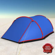 Barraca de acampamento 3d model