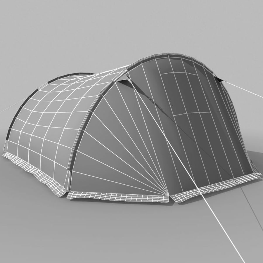Camping Tent royalty-free 3d model - Preview no. 17