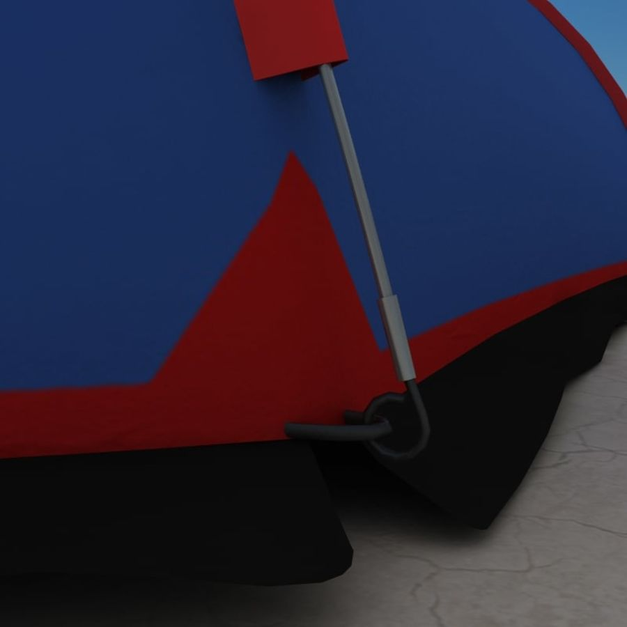 Camping Tent royalty-free 3d model - Preview no. 14