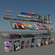 Mercadoria geral 01 small Mental Ray 3d model