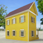 Small town house 46 by 3DRivers 3d model