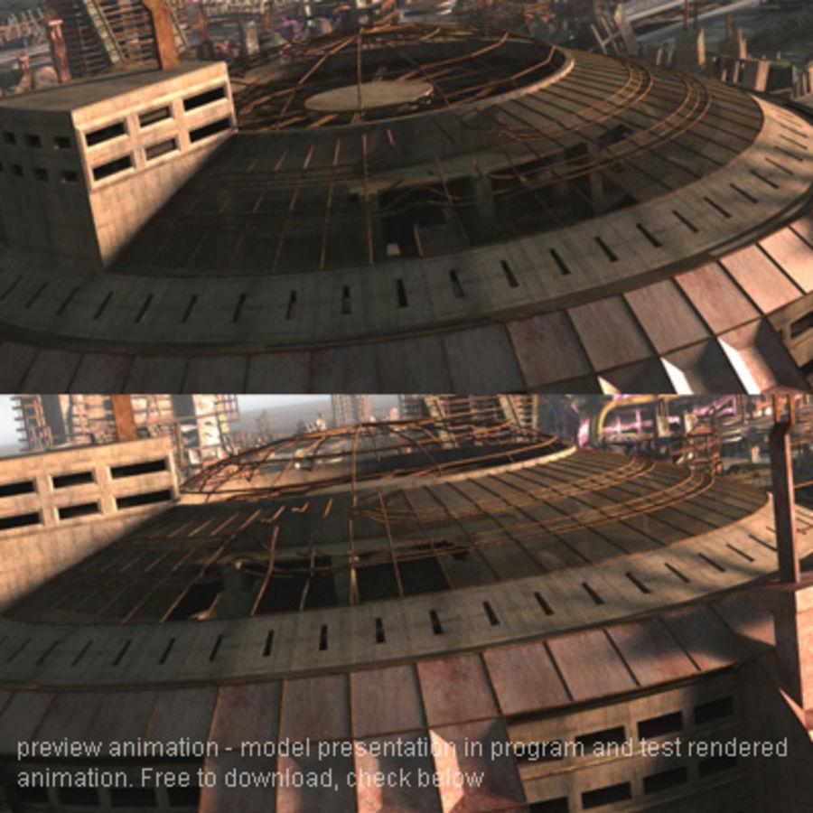 Sci Fi Arena Interior 3D Model $49 -  max  3ds  obj  fbx