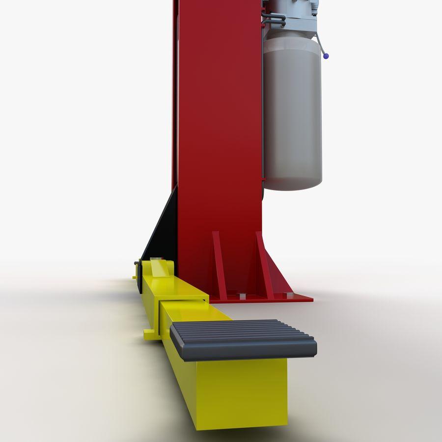Elevador automotivo royalty-free 3d model - Preview no. 6
