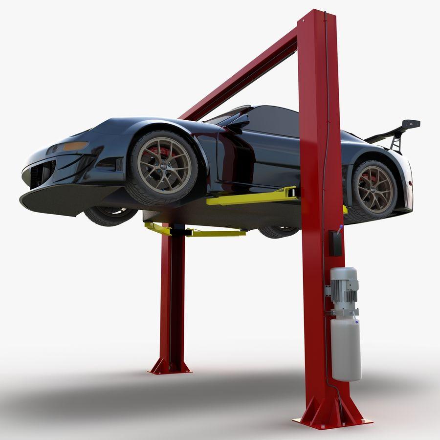 Elevador automotivo royalty-free 3d model - Preview no. 8