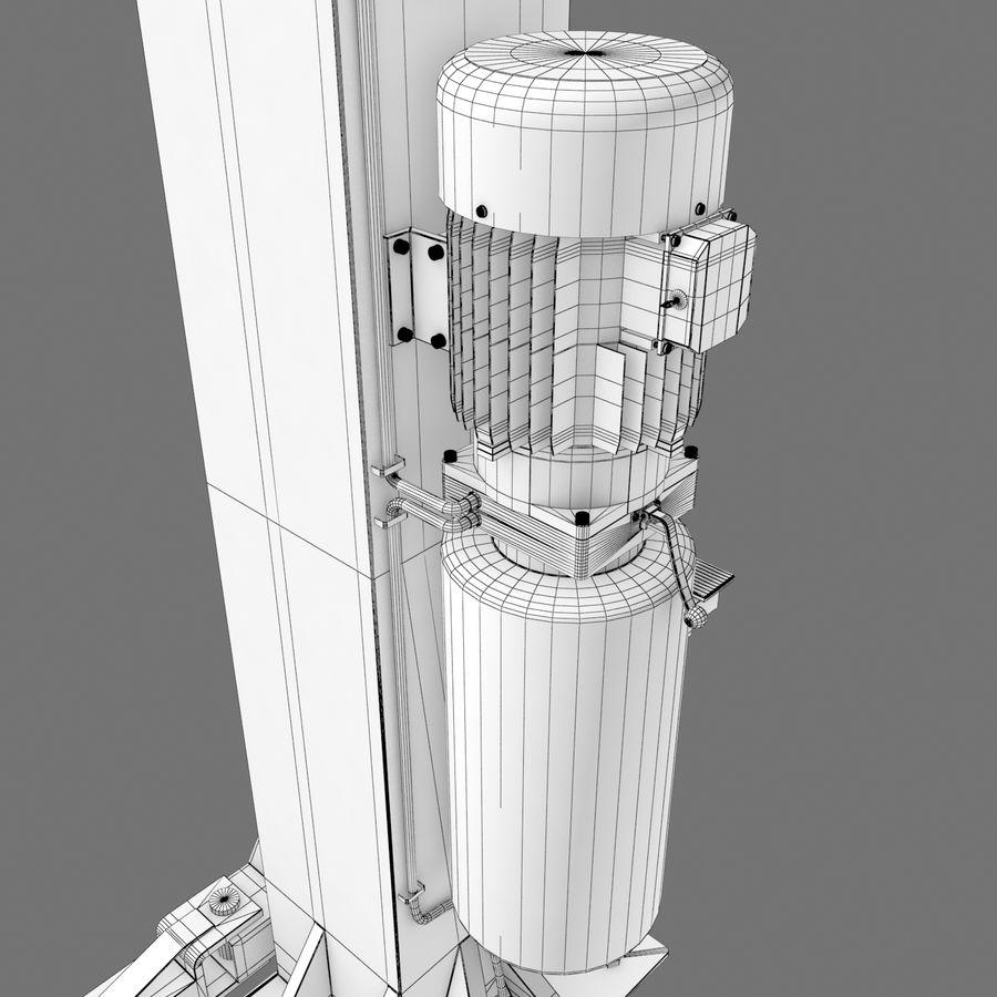 Elevador automotivo royalty-free 3d model - Preview no. 12