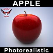 写実的なアップル 3d model