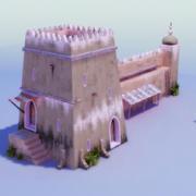 Torre Árabe 3d model