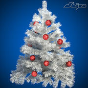 Xmass Tree White 3d model