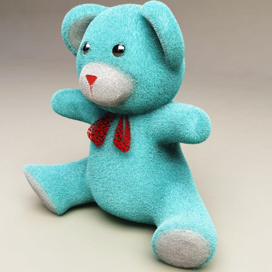 Niedźwiedź zabawka royalty-free 3d model - Preview no. 2
