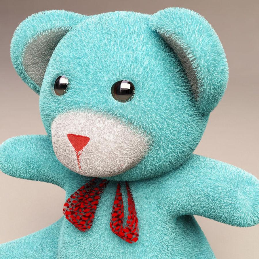 Niedźwiedź zabawka royalty-free 3d model - Preview no. 5