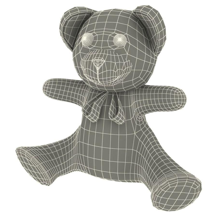 Niedźwiedź zabawka royalty-free 3d model - Preview no. 7
