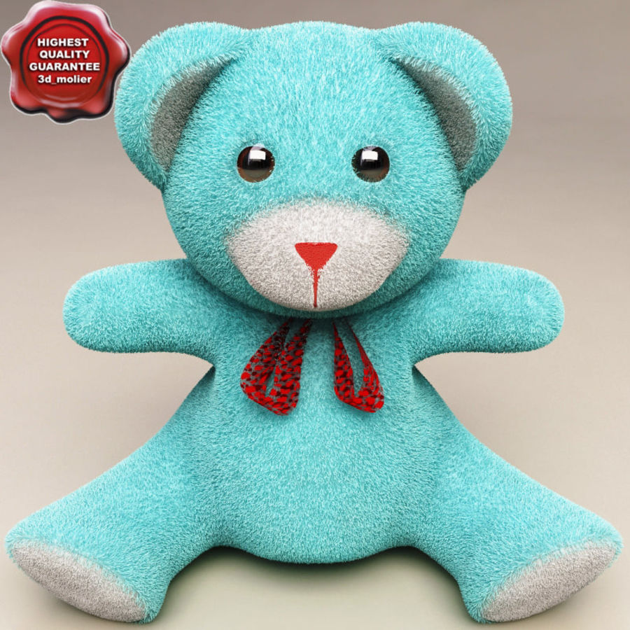 Niedźwiedź zabawka royalty-free 3d model - Preview no. 1