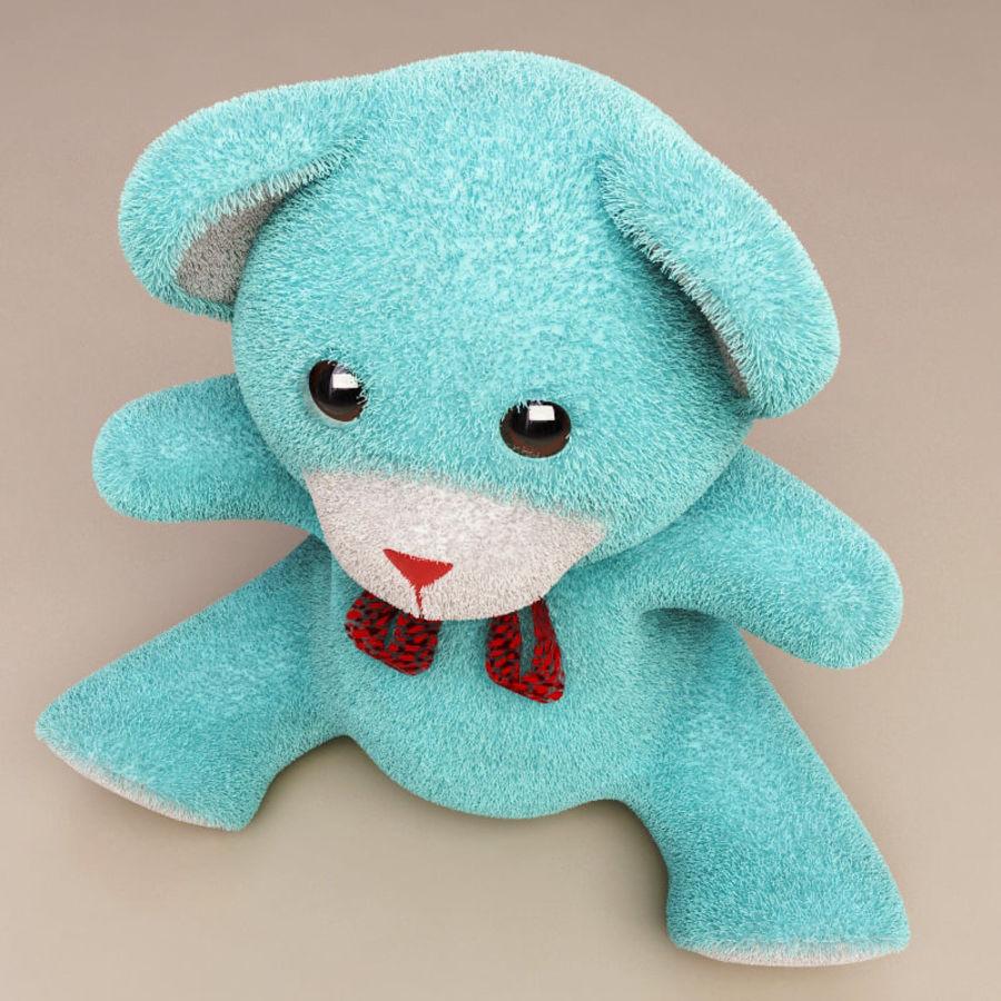 Niedźwiedź zabawka royalty-free 3d model - Preview no. 6