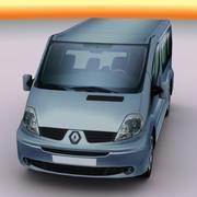 2009 Renault Trafic 3d model