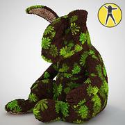 Rabbit plush toy 3d model