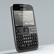 Nokia E72 3d model