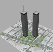세계 무역 센터 3d model
