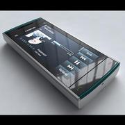 Nokia X6 3d model