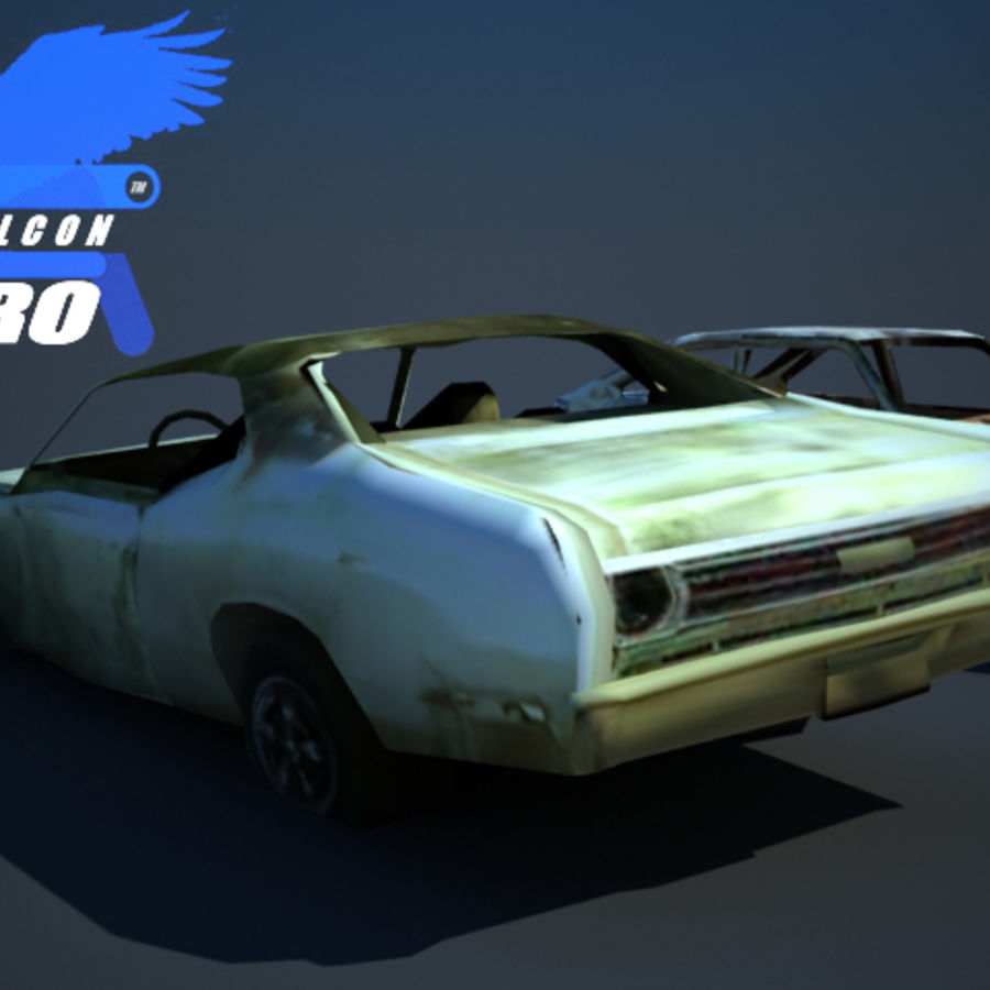 Wreak Cars Collection I royalty-free 3d model - Preview no. 4
