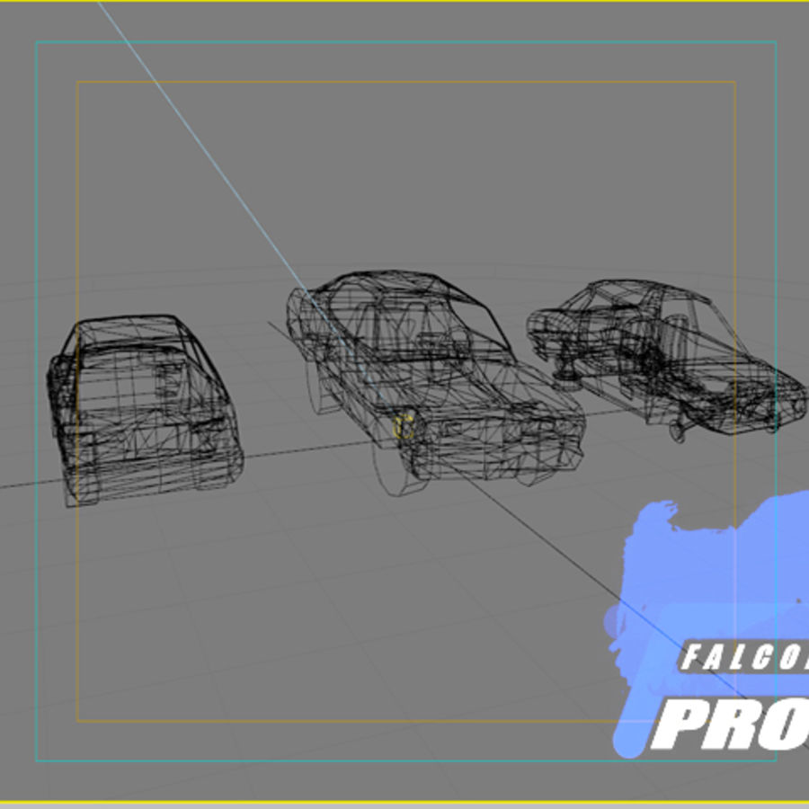 Wreak Cars Collection I royalty-free 3d model - Preview no. 2