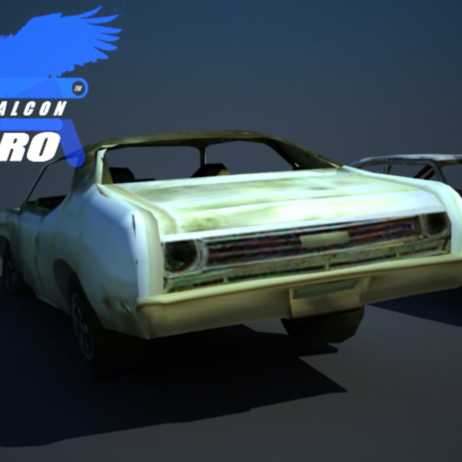 Wreak Cars Collection I royalty-free 3d model - Preview no. 5
