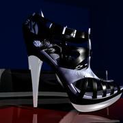 yüksek topuklu 3d model