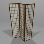Decoratief scherm 3d model