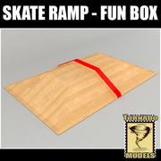 Rampa De Skate - Caixa De Diversão 3d model