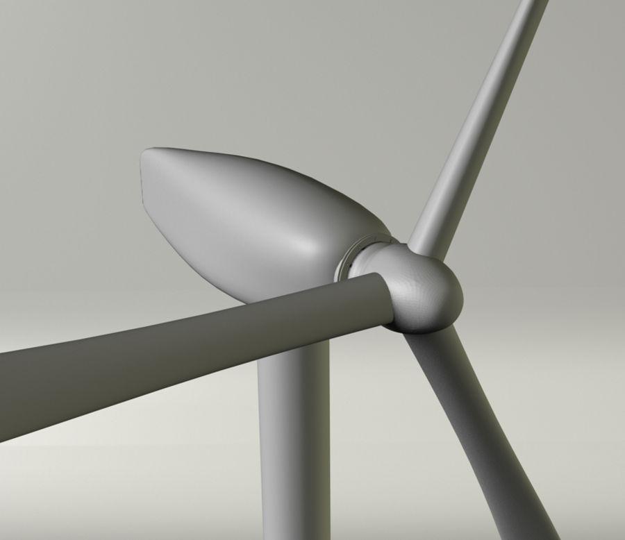 Ветровая турбина royalty-free 3d model - Preview no. 2