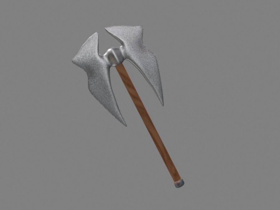 axe.max royalty-free 3d model - Preview no. 2