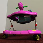 Baby Walker 3d model