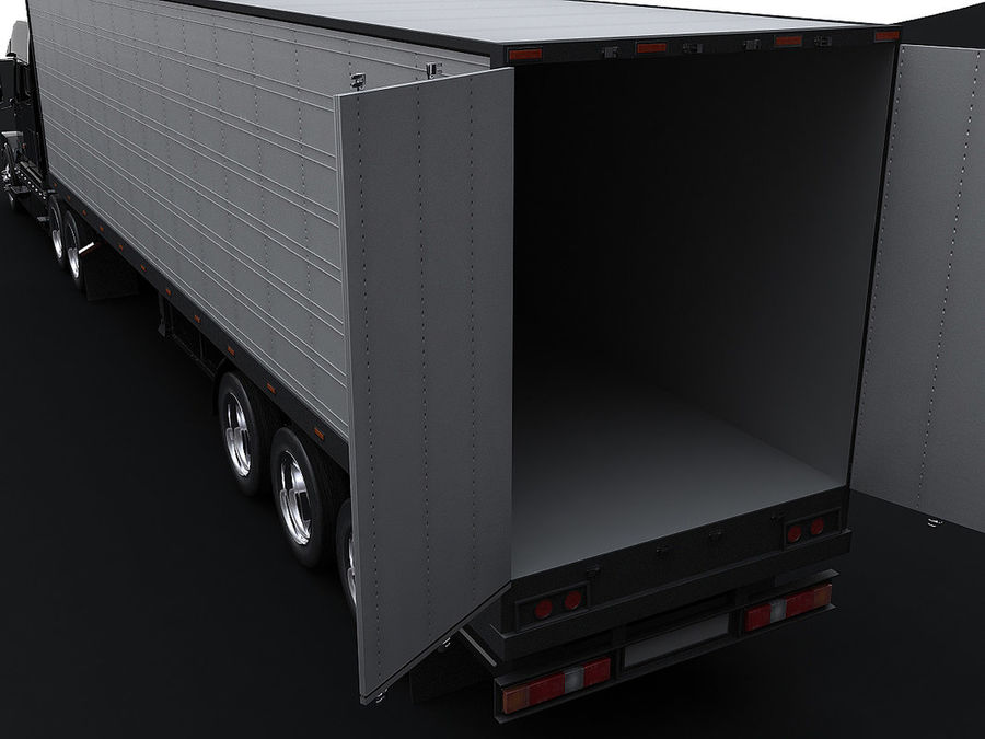trailer royalty-free 3d model - Preview no. 3
