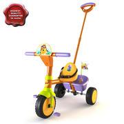 儿童三轮车 3d model