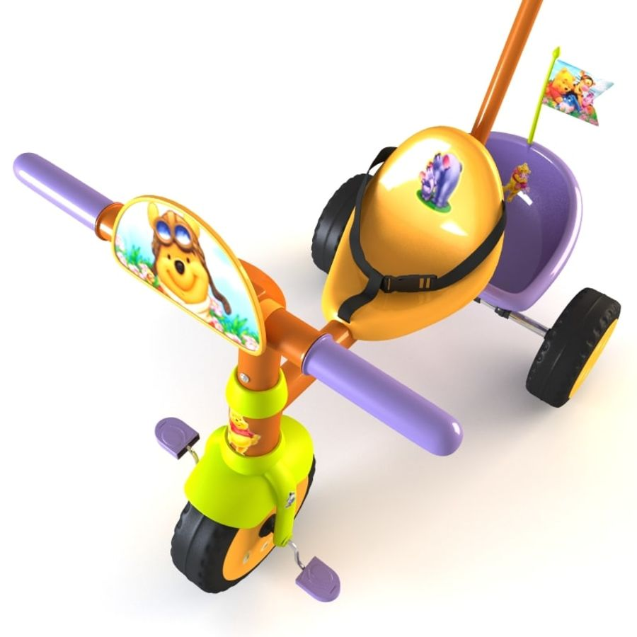 Kinderen driewieler royalty-free 3d model - Preview no. 14