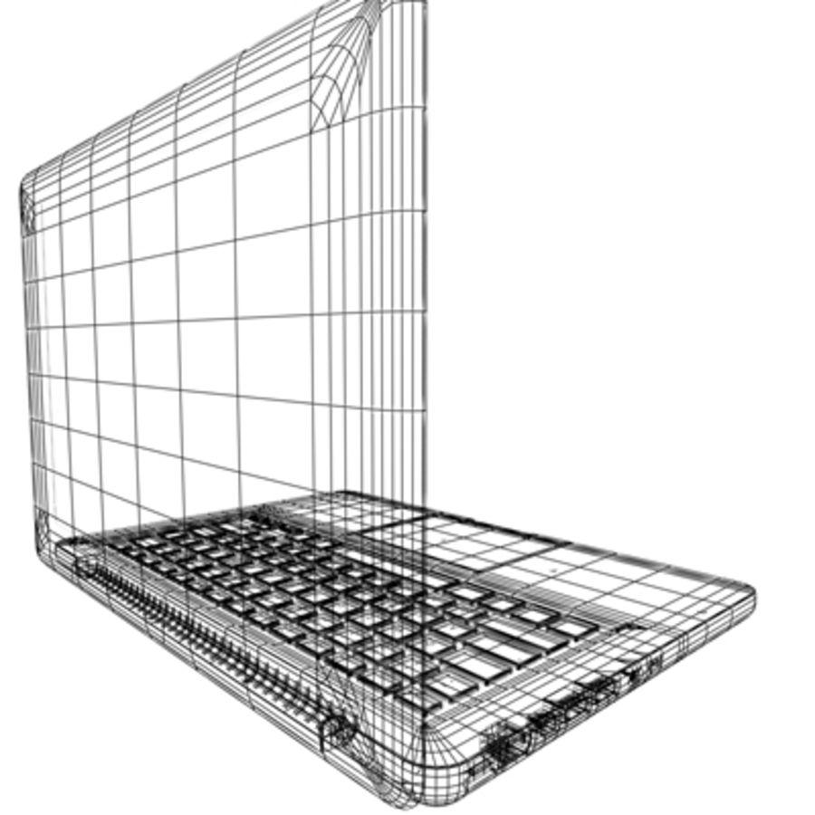 portátil macbook de 13 pulgadas 2010 royalty-free modelo 3d - Preview no. 18