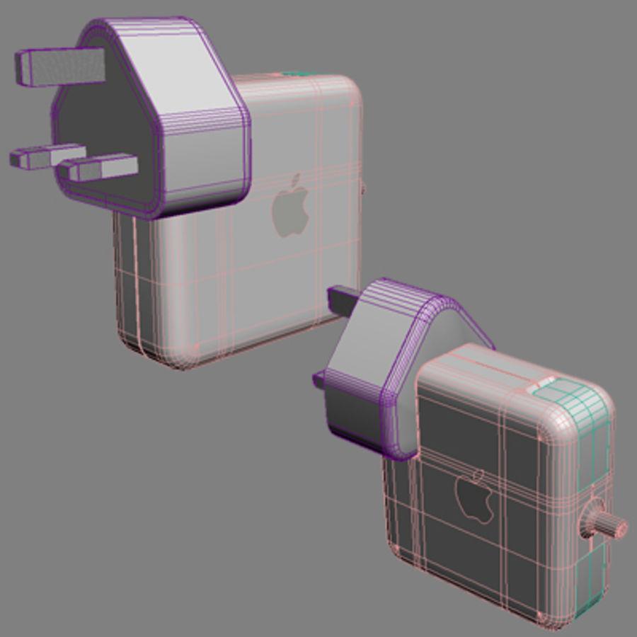 portátil macbook de 13 pulgadas 2010 royalty-free modelo 3d - Preview no. 20