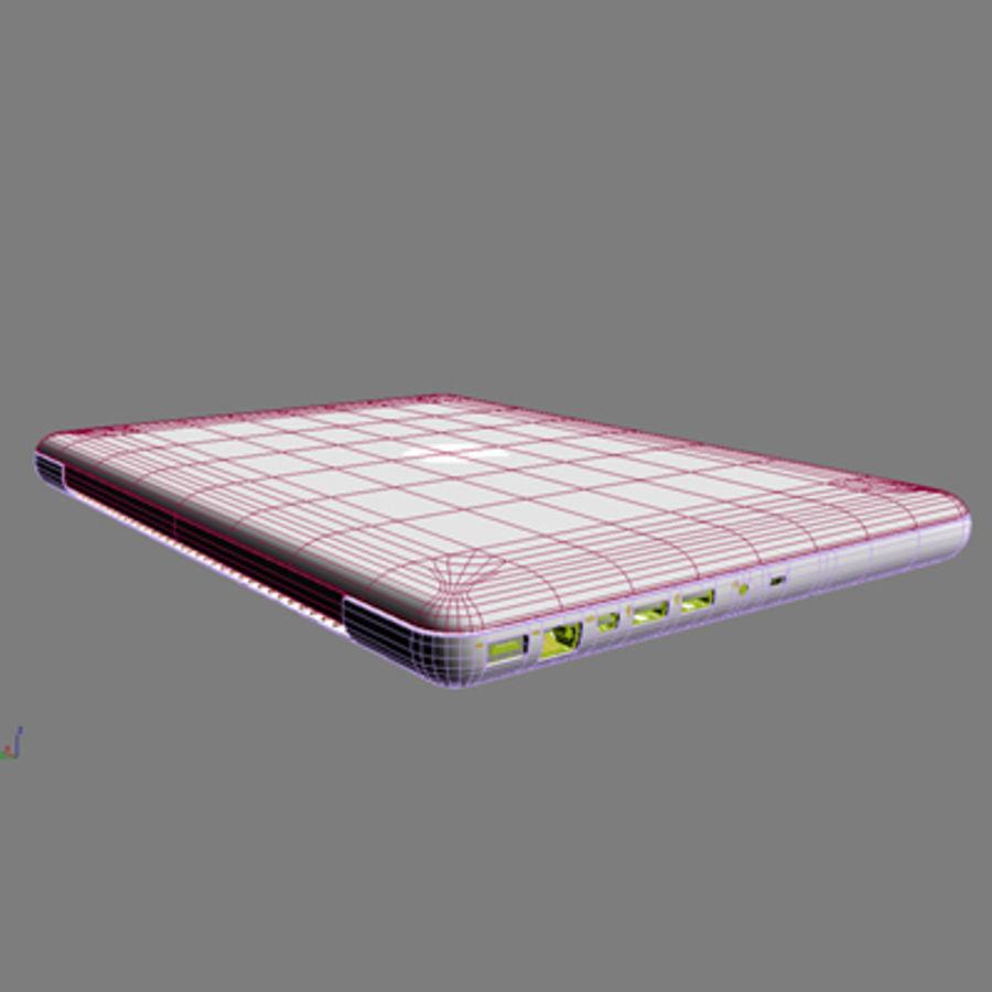 portátil macbook de 13 pulgadas 2010 royalty-free modelo 3d - Preview no. 12