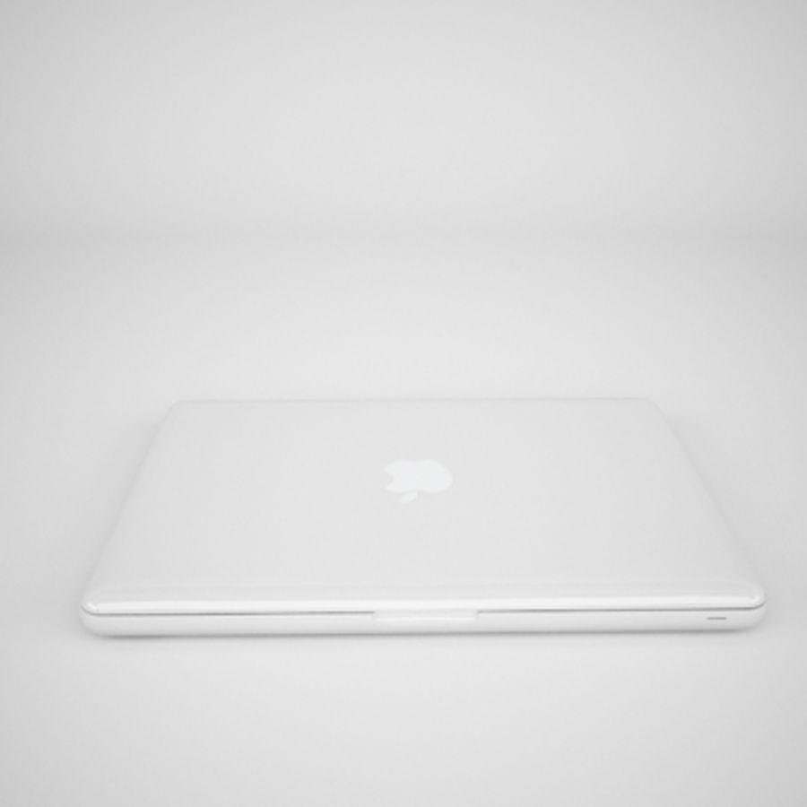 portátil macbook de 13 pulgadas 2010 royalty-free modelo 3d - Preview no. 7