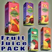 Succo di frutta di primavera 3d model