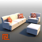 Furniture set 03 3d model