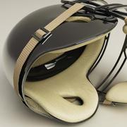 Catcher Baseball Helmet 3d model