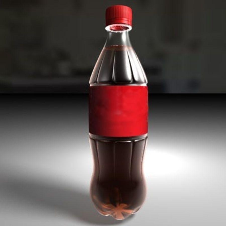 0.5 L Plastic Bottle royalty-free 3d model - Preview no. 1